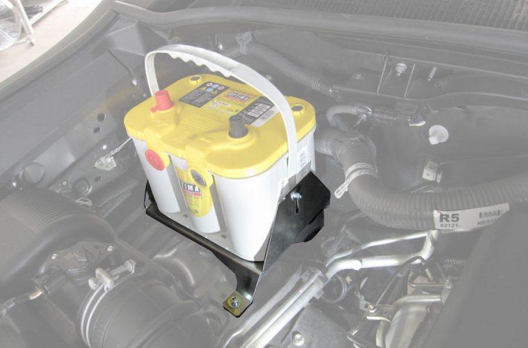 Taubenreuther Optima-Batteriehalter Toyota Hilux Revo