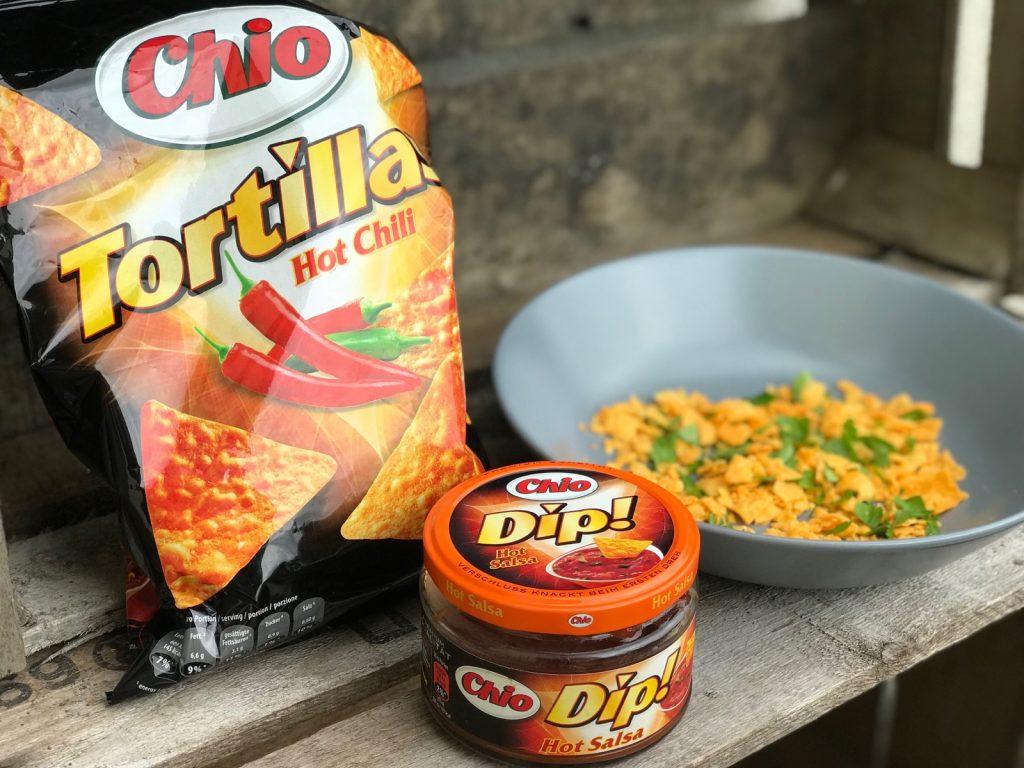Rezept Chio Tortilla Chips überbacken