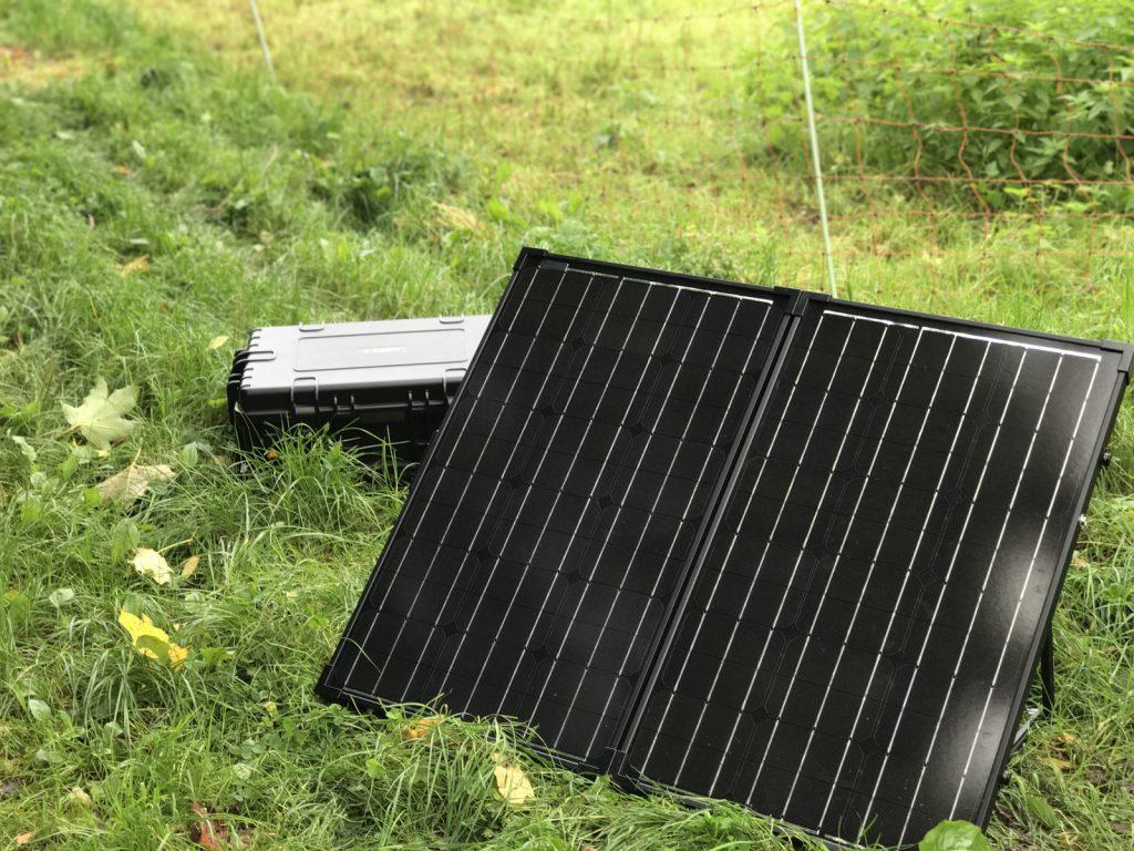 Tronos SBOX-PRO - 120 Watt Solarpanele.