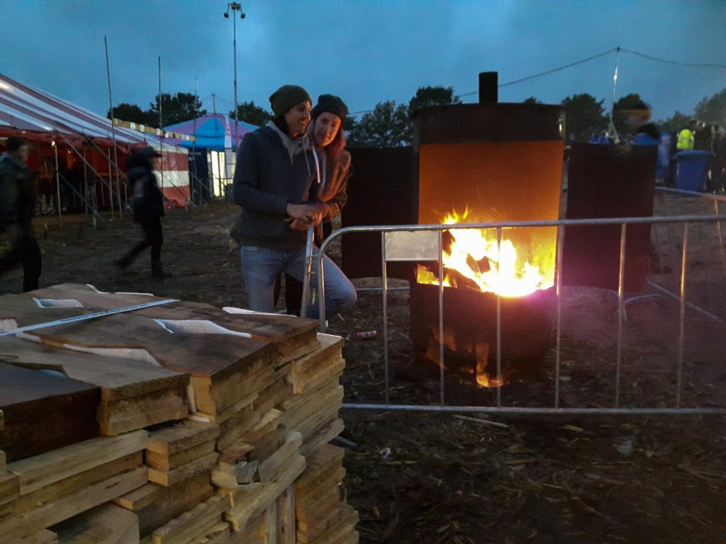 Offroad Budel 2017 - Boiler für Frostbeulen.