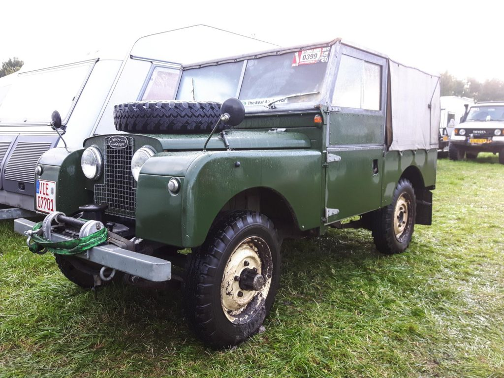 Offroad Budel 2017 - Land Rover Serie I
