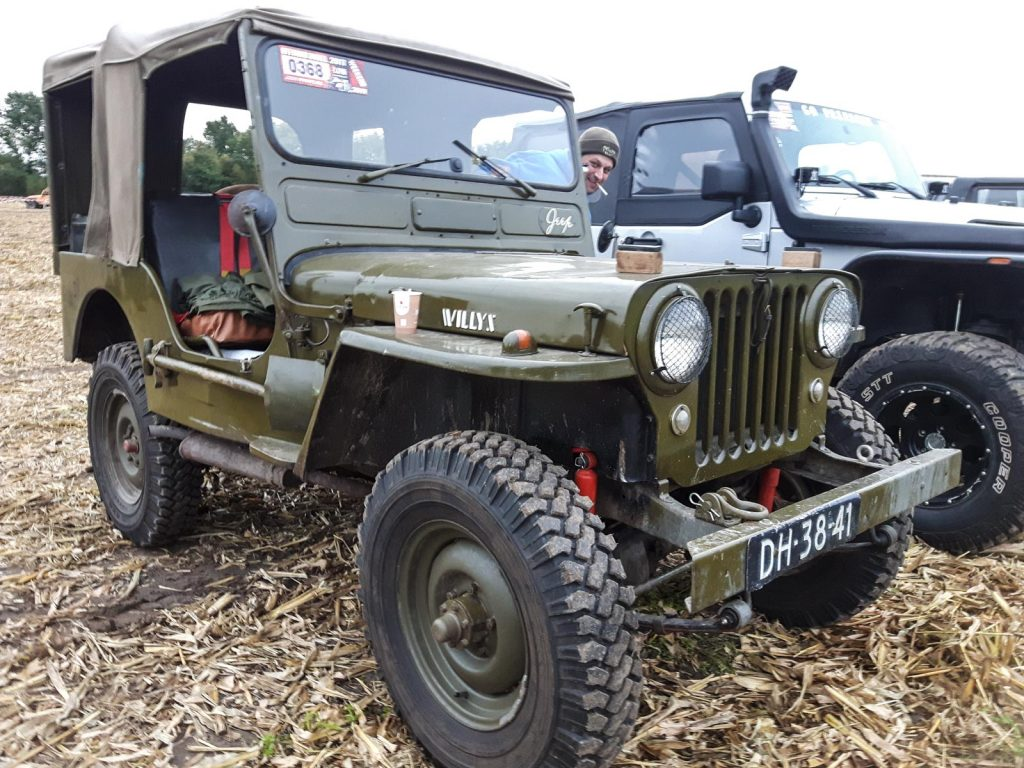 Willys Jeep CJ-3A.