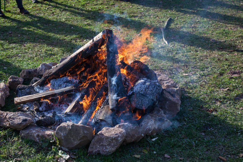 Stock&Stein-Tour 2017 - Ohne Lagerfeuer geht es einfach nicht.