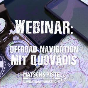 Webinar: Offroad-Navigation mit QuoVadis mobile unter iOS und Android
