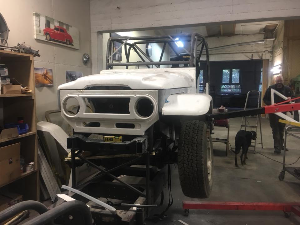 Rallye- und Expeditionsservice - Fahrzeugentwicklung