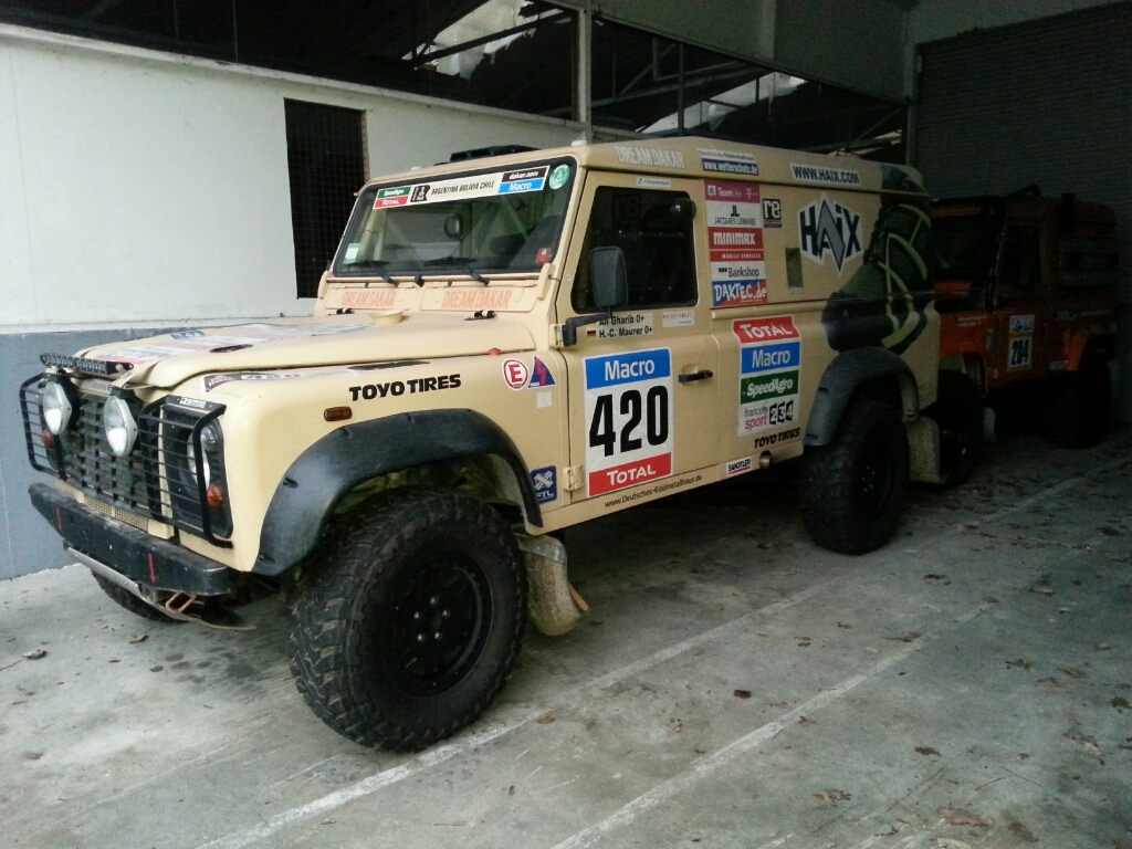 re Rallye- und Expeditionsservice - Dakar Defender