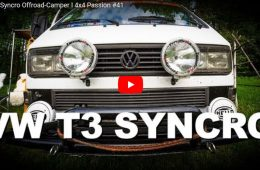 VW T3 Syncro Offroad-Camper - 4x4 Passion #41