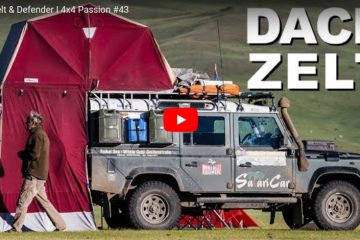 Dachzelt & Defender - 4x4 Passion #43