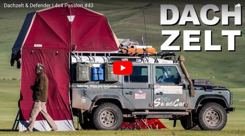 Dachzelt & Defender - 4x4 Passion #43