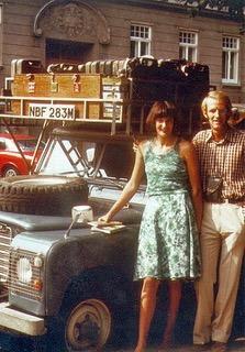 Jan und Alec in Wien, 1977.