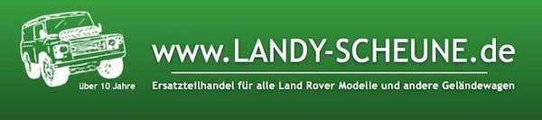 Die www.LANDY-SCHEUNE.de.
