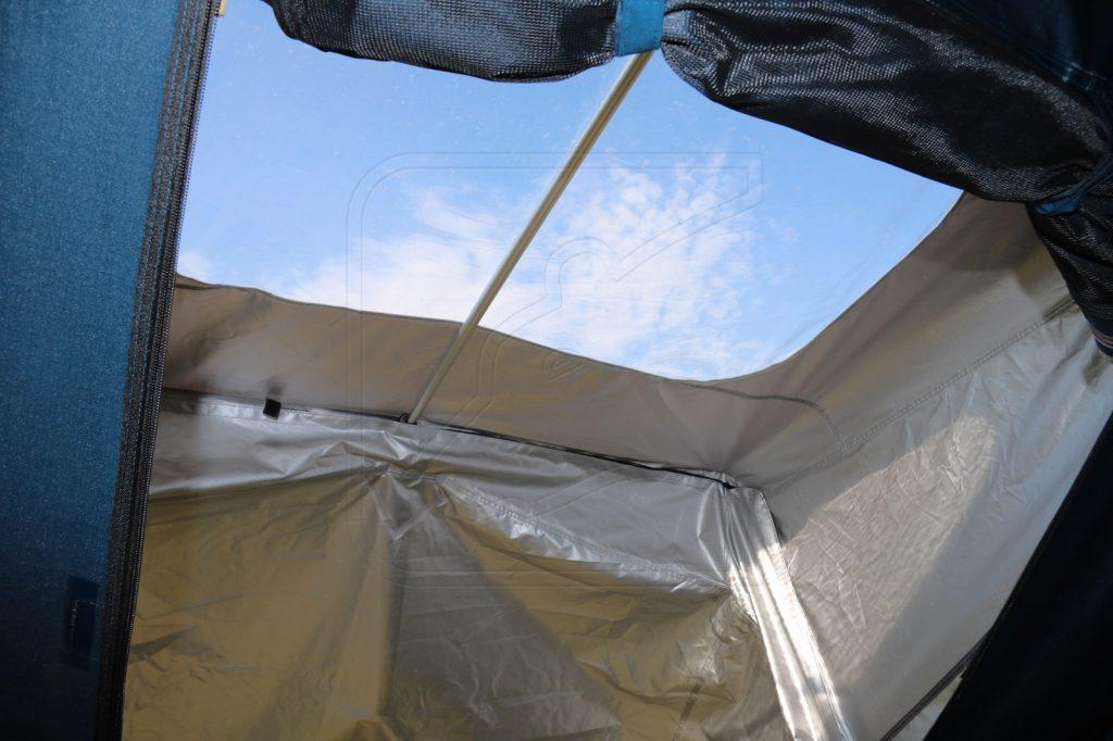 Nakatanenga Rooflodge EXO-Dachzelt - Freier Blick zum Himmel.