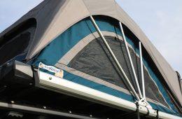 Nakatanenga Rooflodge EXO-Dachzelt - Das Gestänge liegt außen.