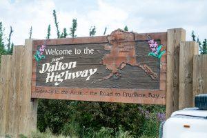 The Sunnyside auf dem Dalton Highway im Norden Alaskas