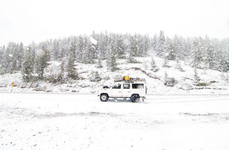 The Sunnyside 2017 - Alaska Highway 02 - Auf dem zweithöchsten Pass des Alaska Highways.