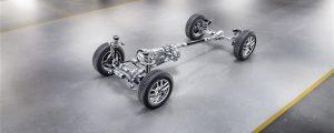 Die neue Mercedes-Benz G-Klasse von 2018 - Einiges Neues: verschraubte Kombination Getriebe-Untersetzungsgetriebe und elektromechanische Lenkung.