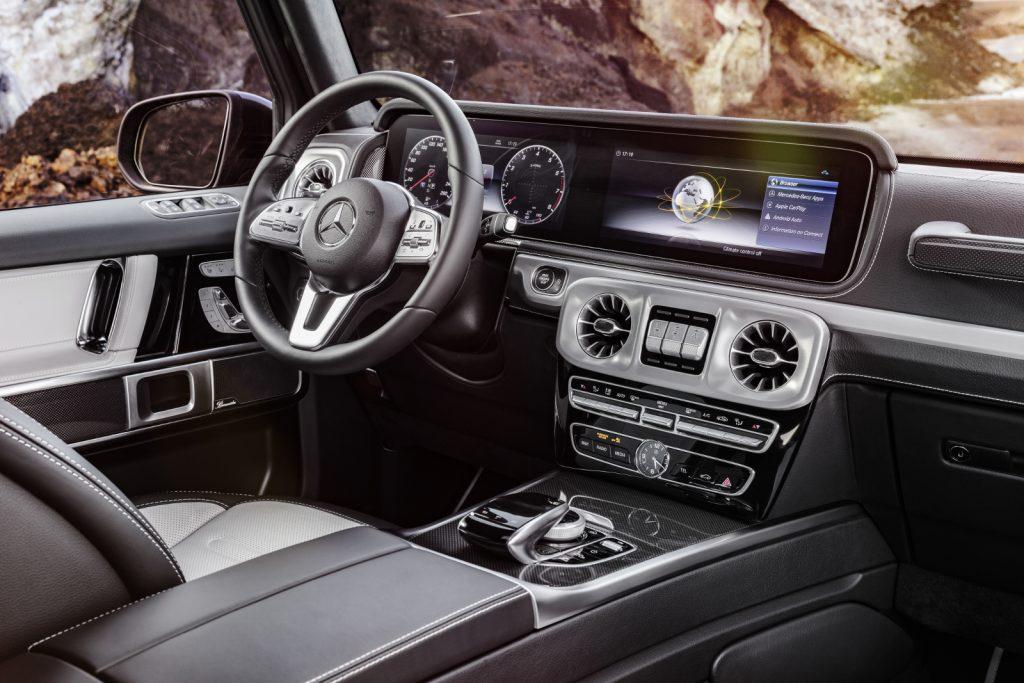 Die neue Mercedes-Benz G-Klasse von 2018. - Das hat nichts mehr mit der Ur-G-Klasse gemein. Luxus und Technik pur.