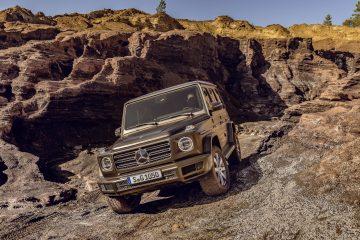 Die neue Mercedes-Benz G-Klasse von 2018.
