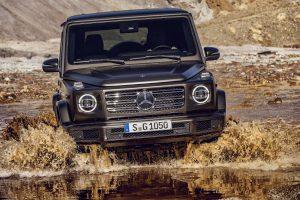 Die neue Mercedes-Benz G-Klasse von 2018. - Wuchtige 12 Zentimeter breiter.