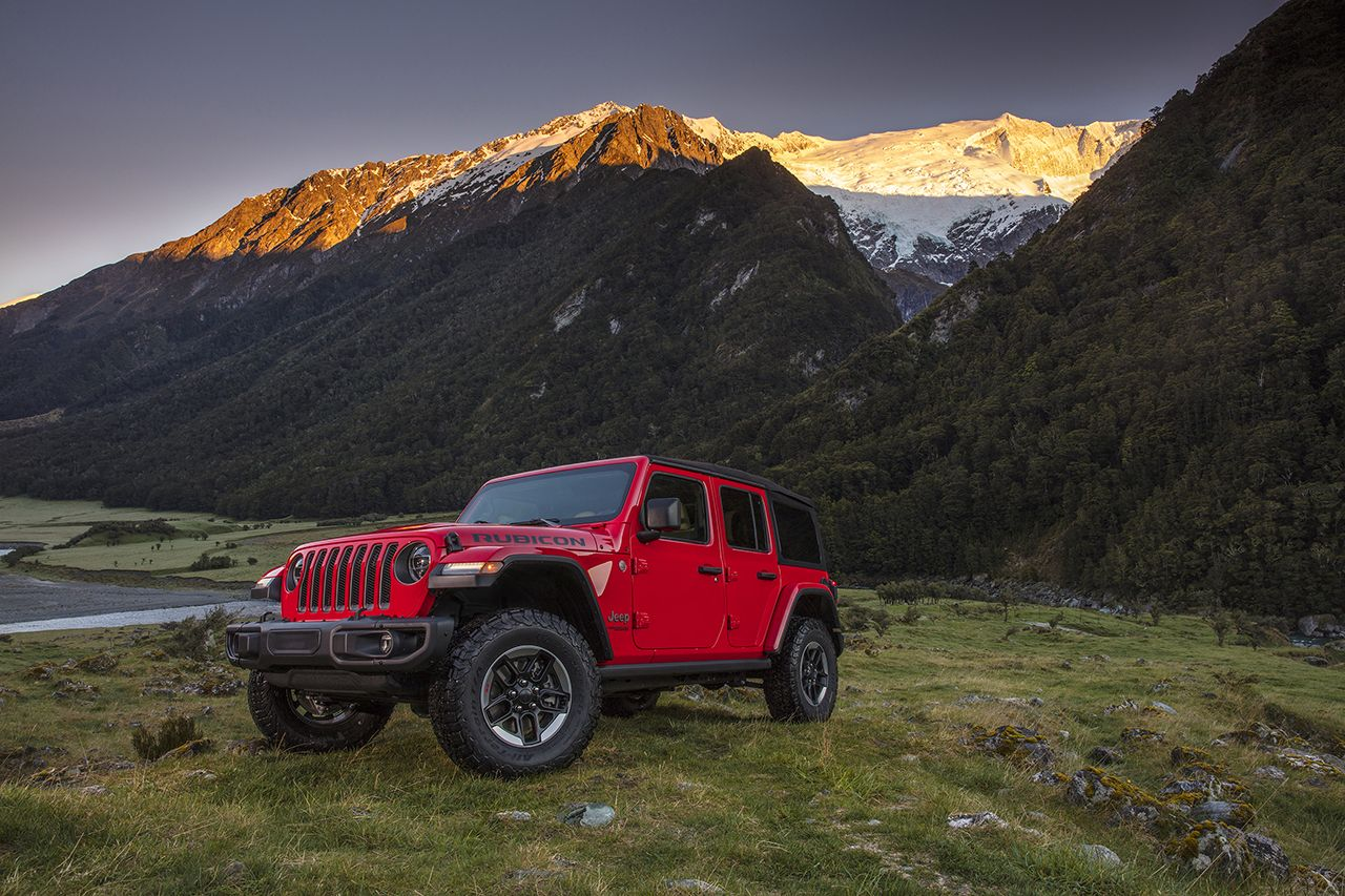 Camp Jeep 2018 - Camp Jeep 2018 mit dem neuen Wrangler.