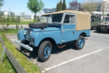 Land Rover-Teilemarkt - Land Rover Showlaufen