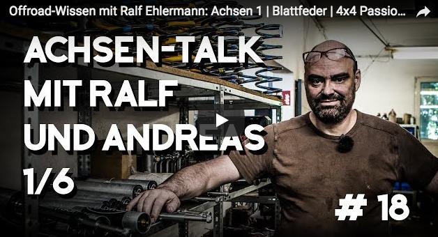 Offroad-Wissen mit Ralf Ehlermann: Achsen 1 - Blattfeder - 4x4 Passion #18