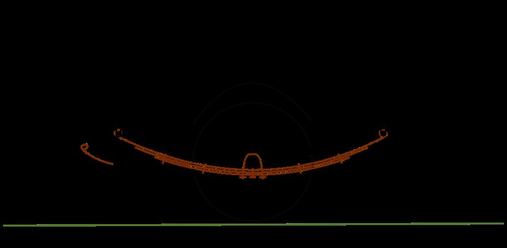 Achskonzepte - Blattfeder - Prinzipieller Aufbau einer Blattfederung.