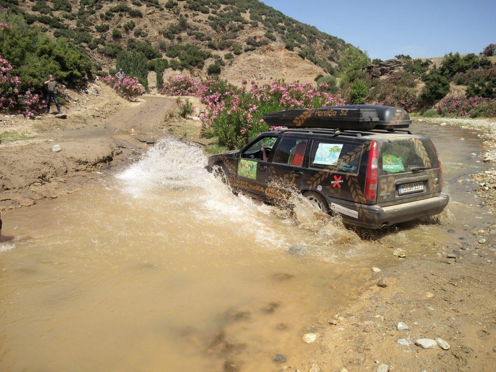 Europa-Orient-Rallye - Ein Reiz der Rallye: Es geht durch wunderschöne und wilde Landschaften.