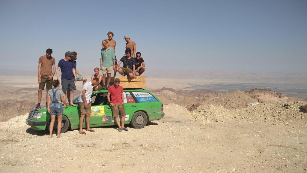 Europa-Orient-Rallye - Der Team-Spirit zählt.