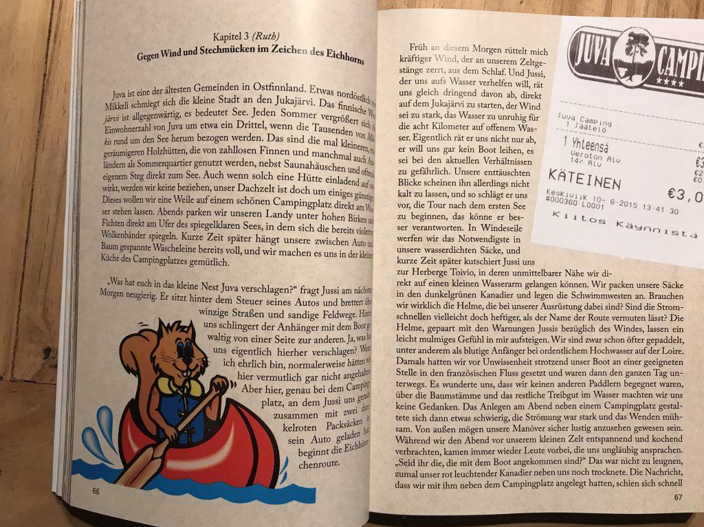 Nordwärts - 12.000 Kilometer mit dem Land Rover durch Finnland und Russland - Das Buch ist liebevoll gestaltet und sehr informativ.