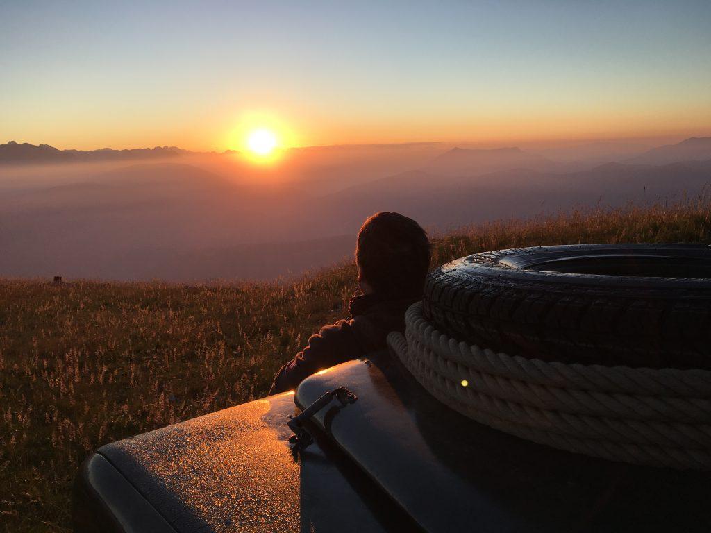 Aller Anfang muss nicht schwer sein - Unser Ratgeber Offroad-Reisen für Anfänger - Die Belohnung an einem einsamen Platz.