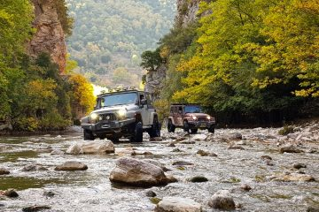 Red Rock Adventures Offroad-Tour Griechenland