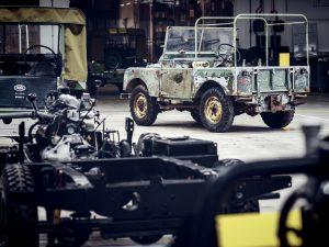 Die Patina bleibt erhalten. © Foto: Jaguar Land Rover