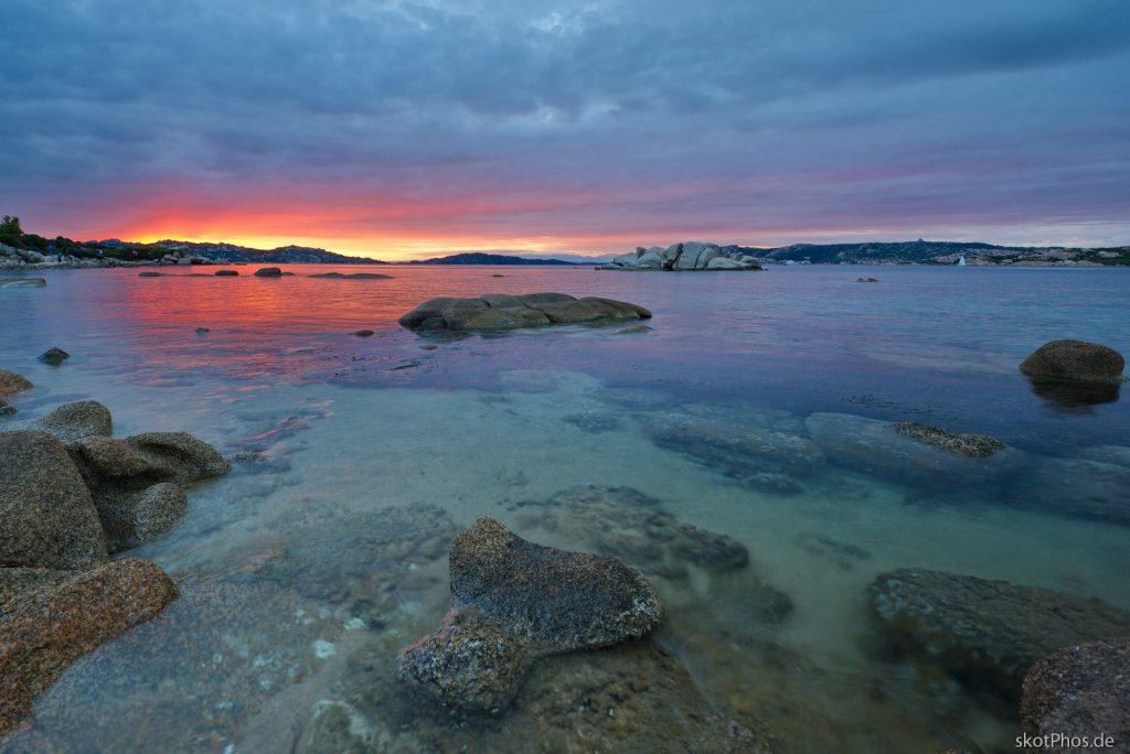 Sardegna - Abendstimmung im La Maddalena Archipel.