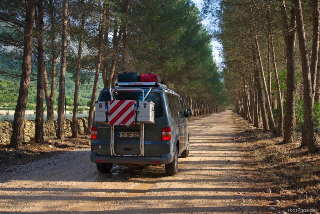 Sardinien - Unterwegs im Valle Lanaitto.