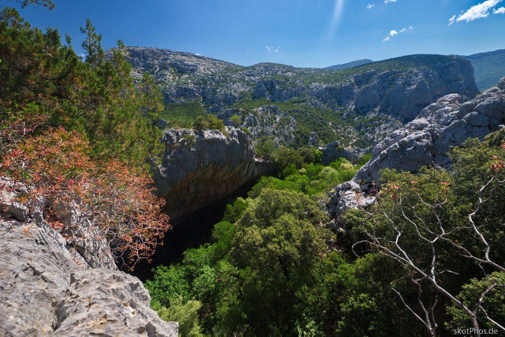 Sardinien - Wanderung zum Nuragenenendorf Tiscali.