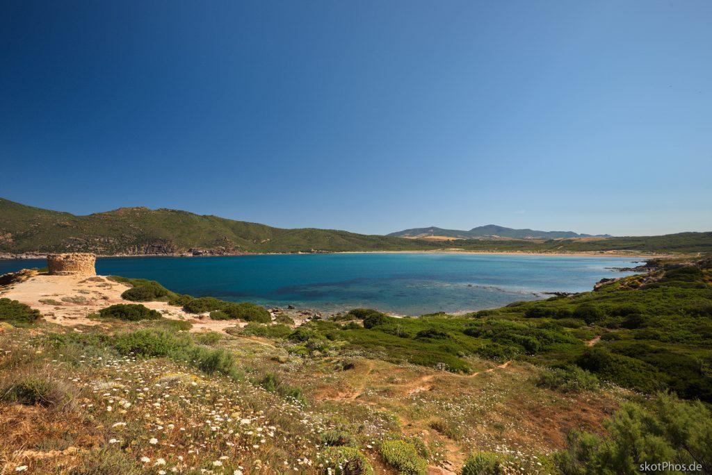 Sardegna - Blick über Porto Ferro.