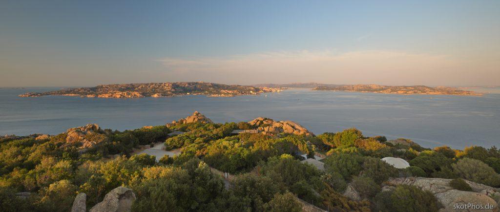 Sardegna - Blick vom Punta Sardegna.