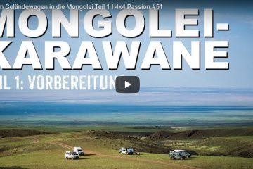 Mit dem Geländewagen in die Mongolei Teil 1 - 4x4 Passion #51