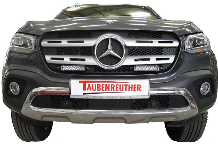 Mercedes X Klasse Zubehör Von Taubenreuther Matschpiste