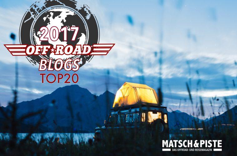 Die besten Offroad-Blogs 2017