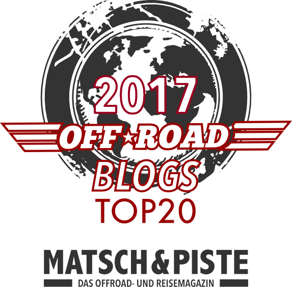 Logo Beste Offroad-Blogs 2017