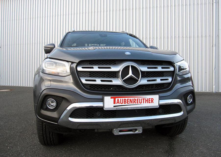 Taubenreuther - Warn und Tabor Winden für die Mercedes X-Klasse mit Einbauset.