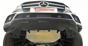 Taubenreuther - Aluminium-Unterfahrschutz für die Mercedes X-Klasse.