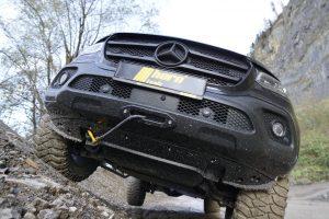Winde für die Mercedes X-Klasse von horntools.