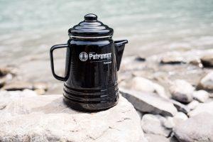 Emaille-Geschirr füs Camping von Petromax, Perkomax