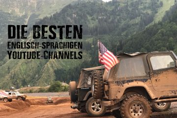 Englisch-sprachigen Offroad Youtube-Channels