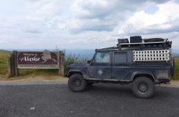 Nordamerika - Mit dem Landy auf Entdeckungstour auf der anderen Seite des großen Teiches - Endlich Alaska