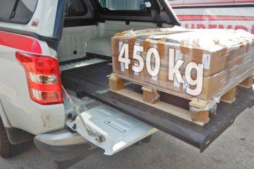 Taubenreuther UPRACKS Pickup Ladeflächenauszug