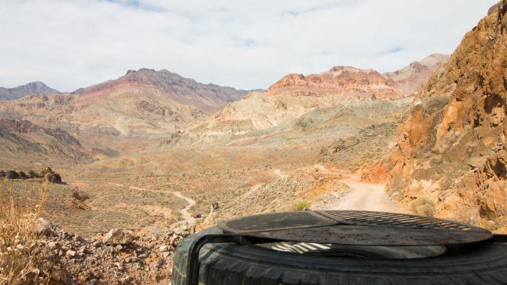 ©thesunnyside_6 - Blick in den Titus Canyon.